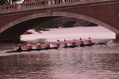 Racing, Head of the Charles   by crschmidt