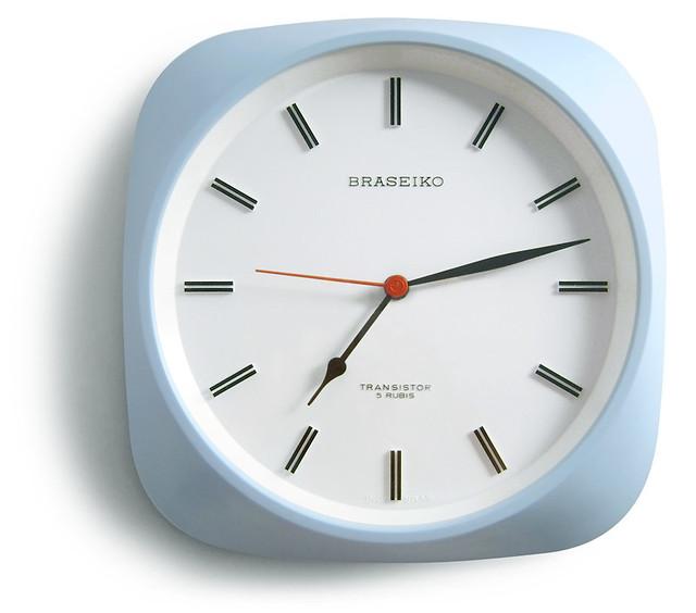 Braseiko Transistor Wall Clock, 1960s