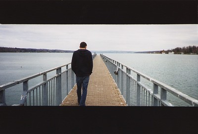 levy on the pier.