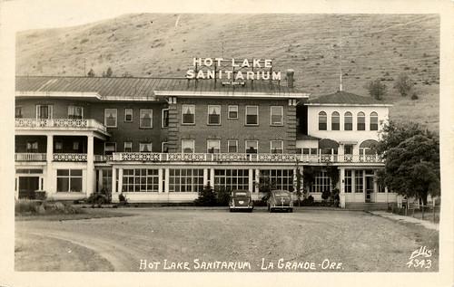 Hot Lake Sanitarium, 1948