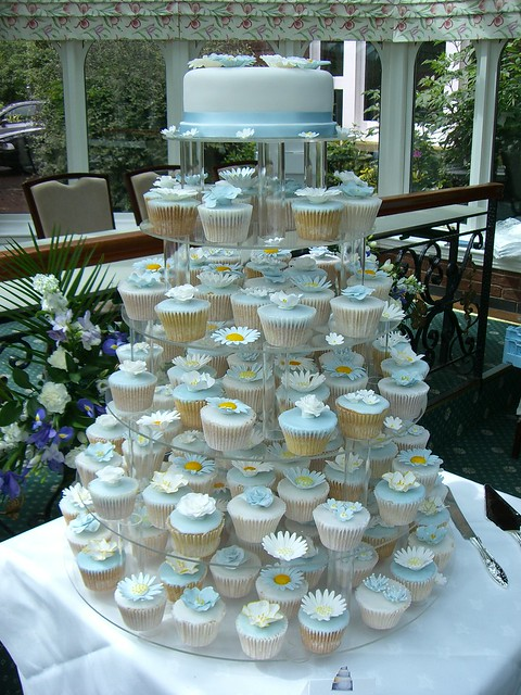 Caroline's Cupcake Tower