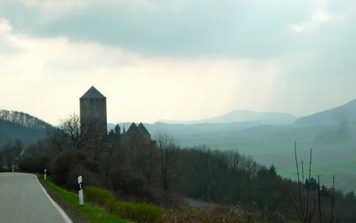 Burg Lichtenburg dusk | by a_peabody