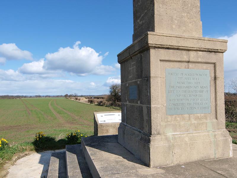 Marston Moor Battlesite memorial