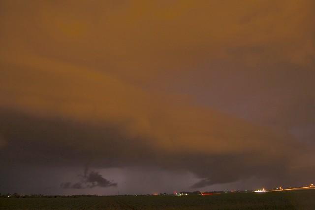 June 3, 2008 - Late Night Supercell Shelf Cloud!
