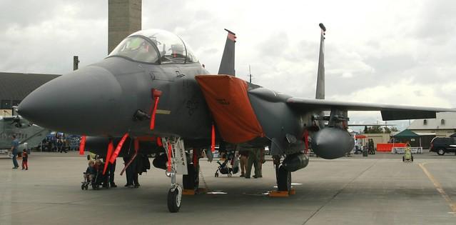 USAF F-15 on the flight line