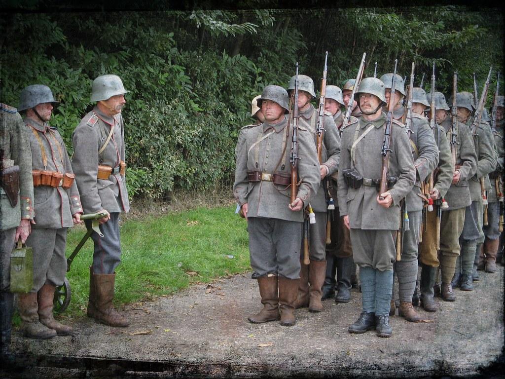 WW1 German troops | members of the 116th Infantry Reserve Im… | Flickr