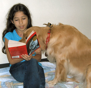 Samantha loves to hear kids read! | by ACPL