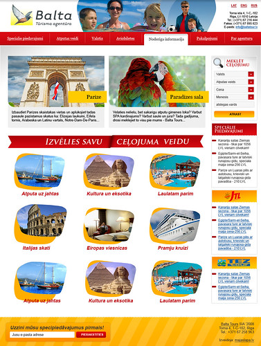 Balta Tour - Main page | by LauvaMedia.com