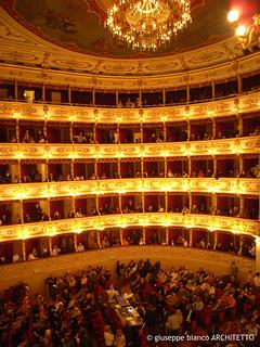 Parma (It) - Teatro Regio | Architetto Nicola Bettoli | 1821 - 1829