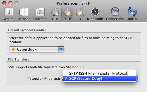 Cyberduck - SFTP   Island in the Net   Flickr