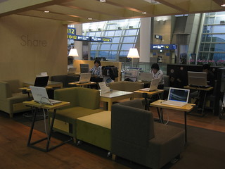 Internet Lounge in Incheon International Airport | by christopher.leung