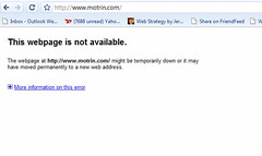 Motrin.com is down   by jeremiah_owyang