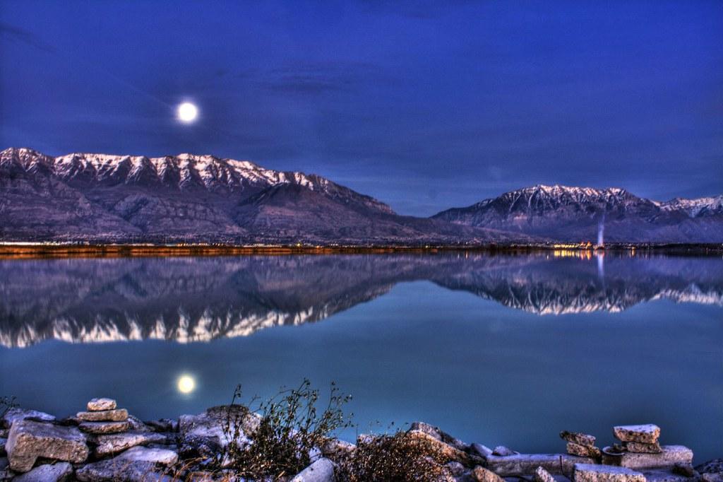 Mirrored Moonlight