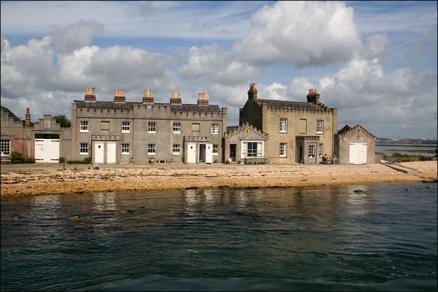 Cottages on Brownsea