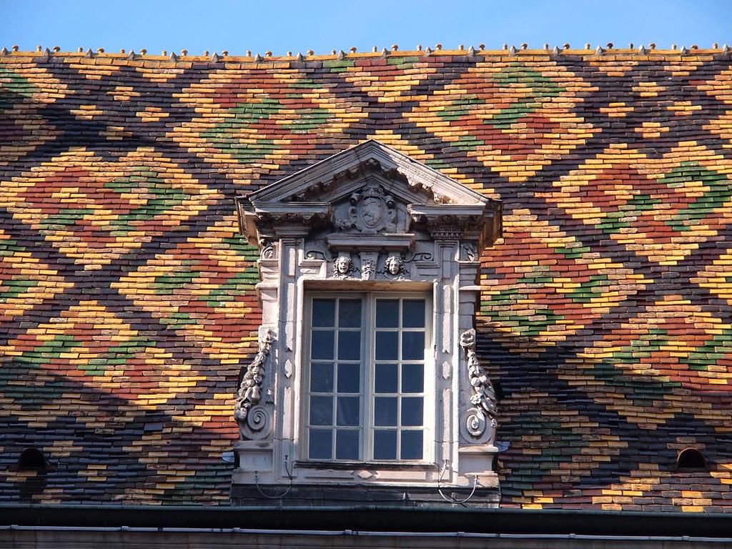 Coloured tiles, Dijon