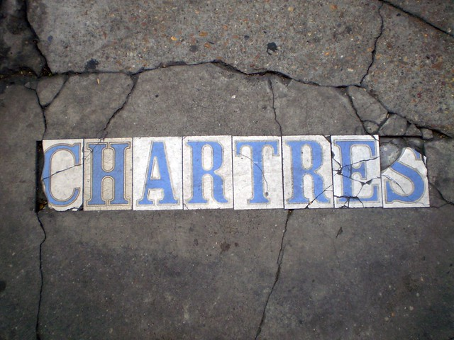 Chartres Street Tiles, New Orleans