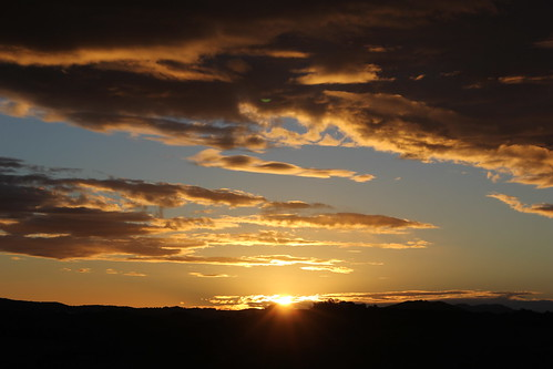 travel light sunset nature clouds evening scenery australia nsw dorrigo