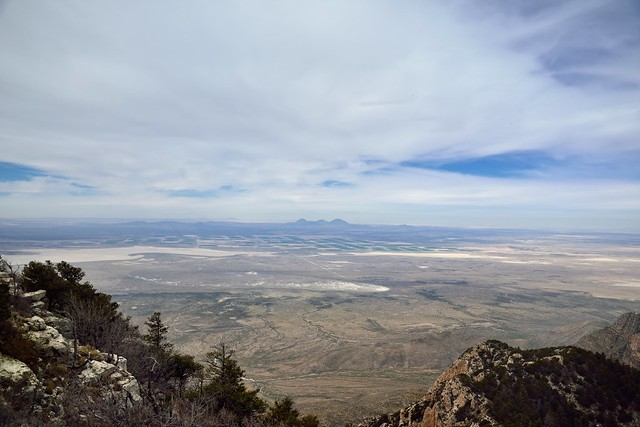 A Far Off View in Western Texas (Guadalupe Mountains National Park)