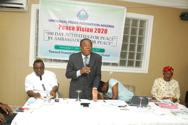 Nigeria-2016-11-12-Nigerians Plan Early Start for Peace Vision 2020