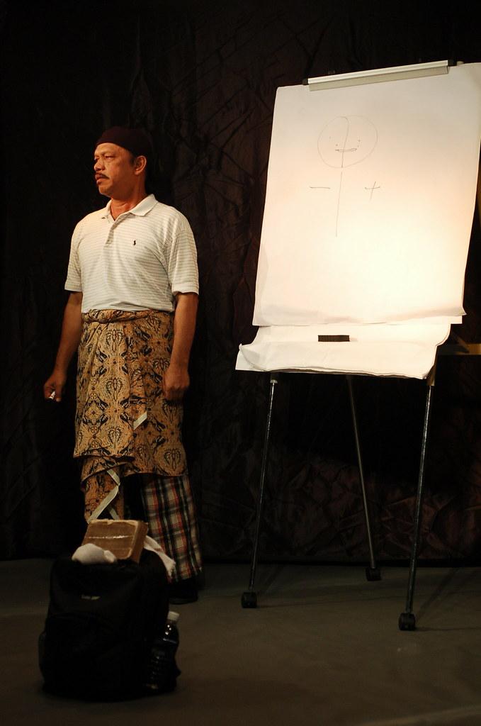 Teater Monodrama 'Jual Ubat' - Khalid Salleh #77