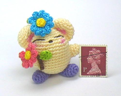 Beautiful Skills - Crochet Knitting Quilting : Cute Tiny Mice ... | 397x499