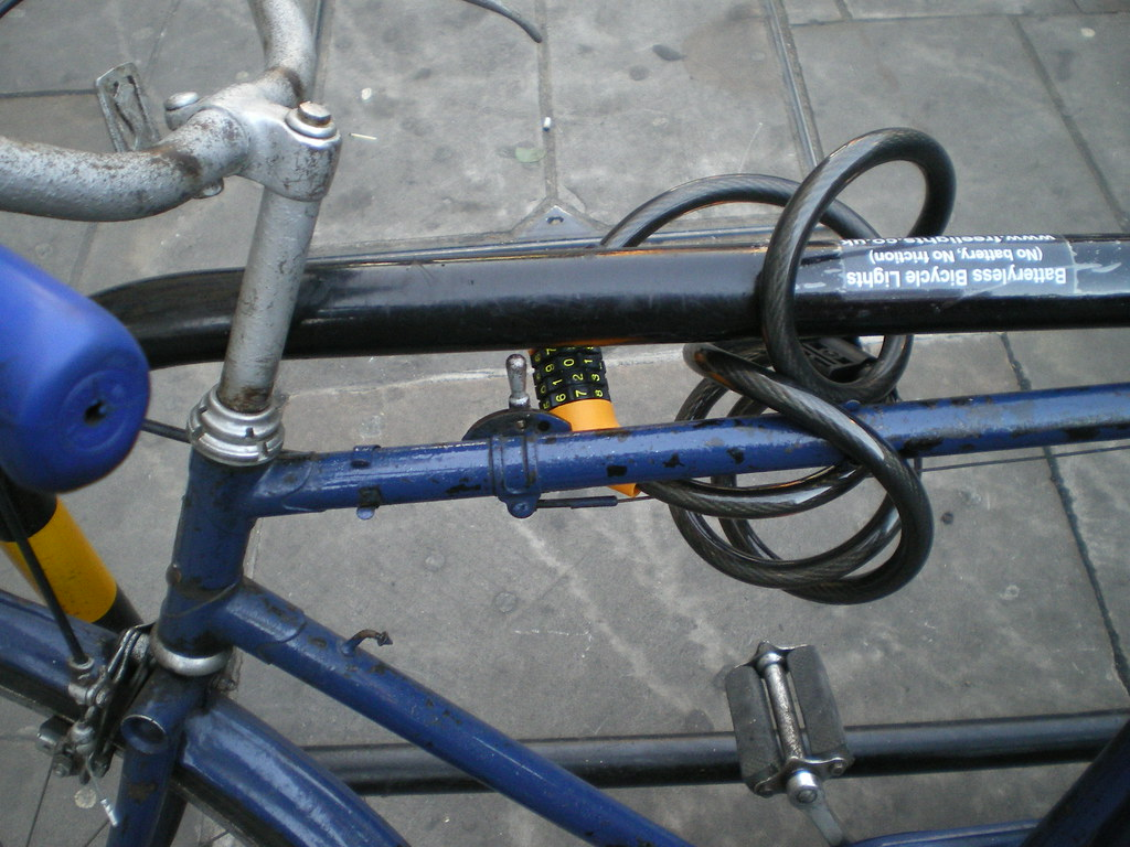 Old bikes are less attractive to thieves