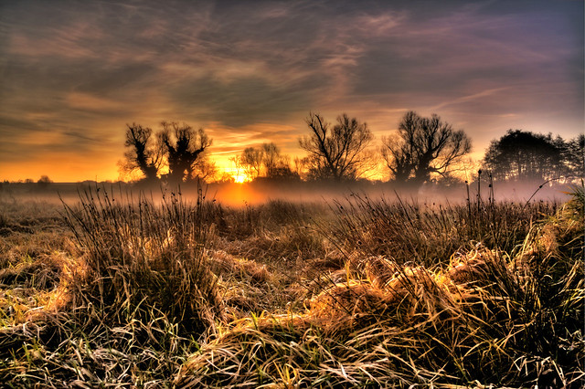 Sunrise, Castle Acre Water Meadows