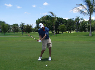 Doral Blue Monster #8 Will Peterson Approach Shot   by camflan