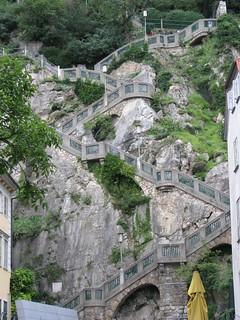 Stairs up the Schlossberg, Graz | by ERKSS