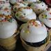 ice cream cone cupcakes by megpi