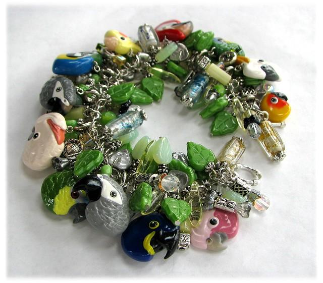 Custom Chunky Parrot Bracelet