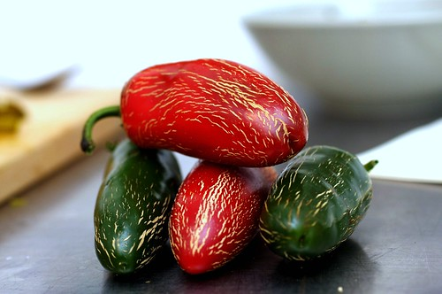red and green jalapenos | by smitten kitchen