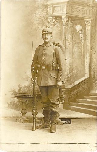 WWI German Rifleman   by sunnybrook100
