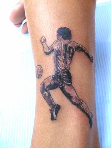 maradona tattoo