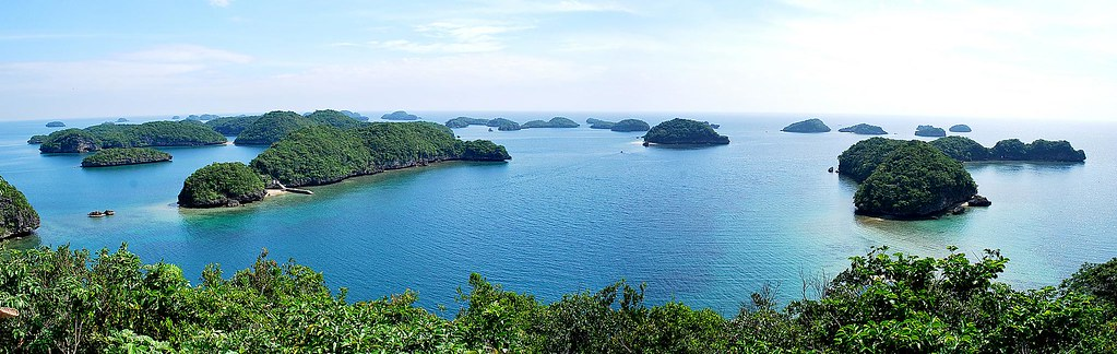 Hundred Islands Panorama