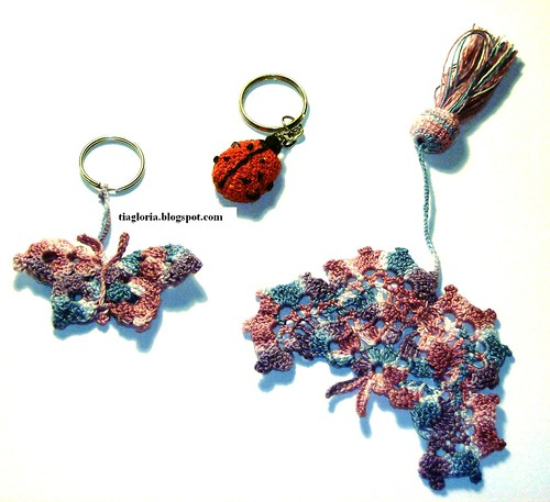 Março - Borboleta em crochet
