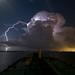Night Thunderstorm by OneEighteen