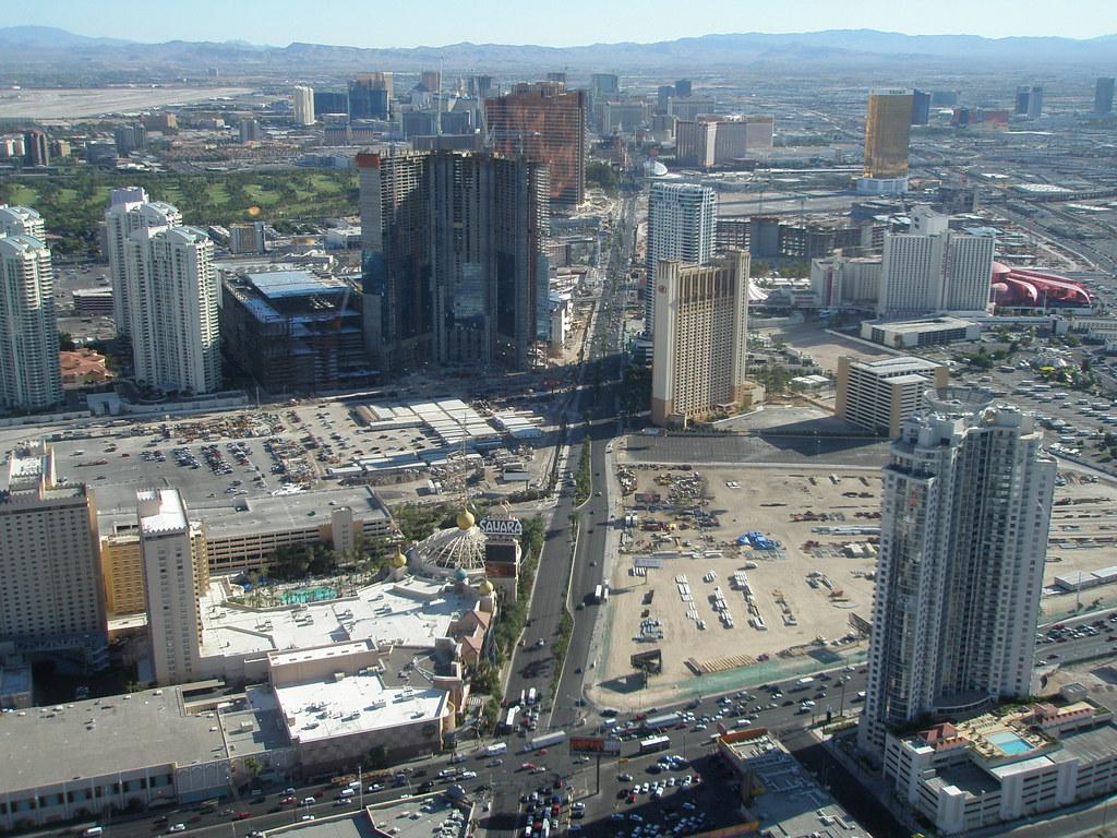 View of the Las Vegas Strip | Indoor observation deck, Strat