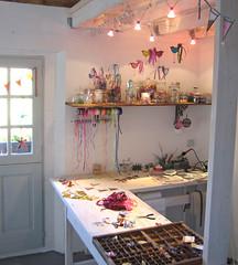 a corner of my studio   by pamela.angus
