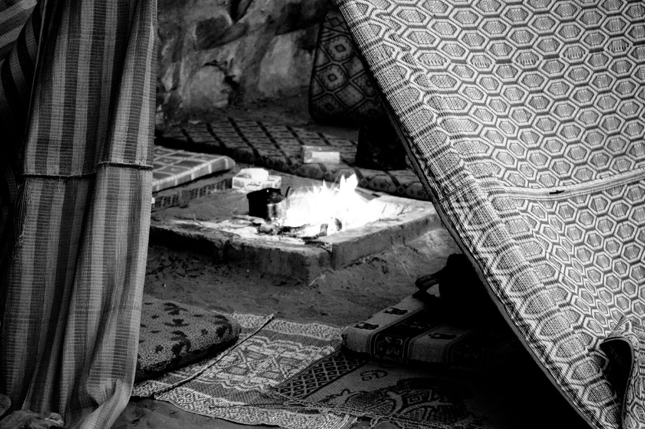 Bedouin Tent Foyer