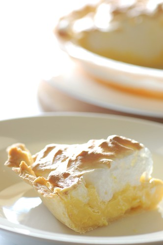mum's lemon meringue pie | by jules:stonesoup
