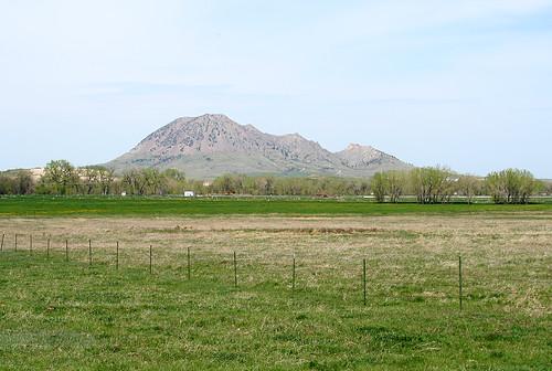 southdakota scenery butte sturgis bearbutte
