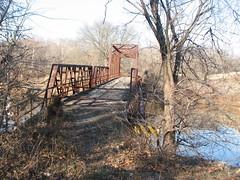 Old Lee Creek Bridge-West Approach