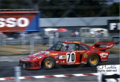 24 Heures du Mans 1979 Porsche 935 Turbo , Dick Barbour , Paul Newman , Rolf Stommelen