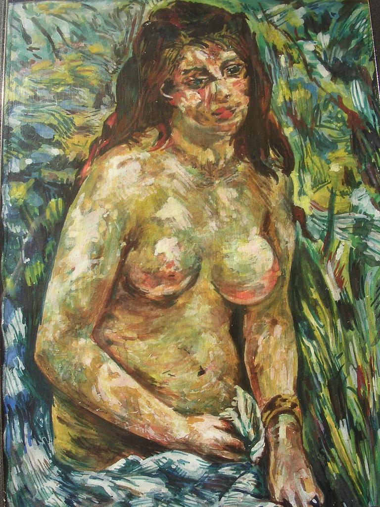 Nude In The Sun