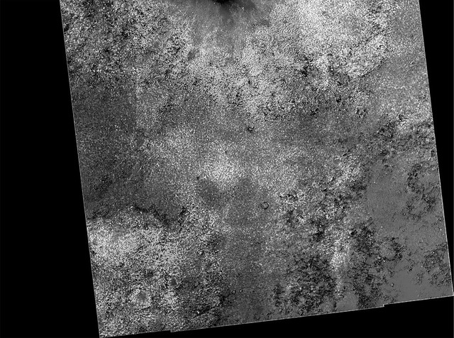 S Victoria Crater, Meridiani Planum, Mars Dustmap (normalized grayscale Canvin FT- normalized HiRise) grayscale