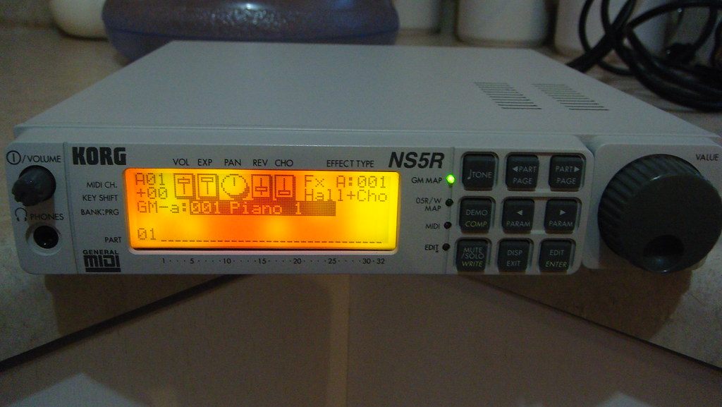 Korg NS5R MIDI Tone Module Synthesizer | Mario san | Flickr