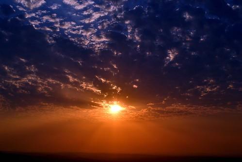 sunset nature clouds parks arkansas mtnebo dardnell