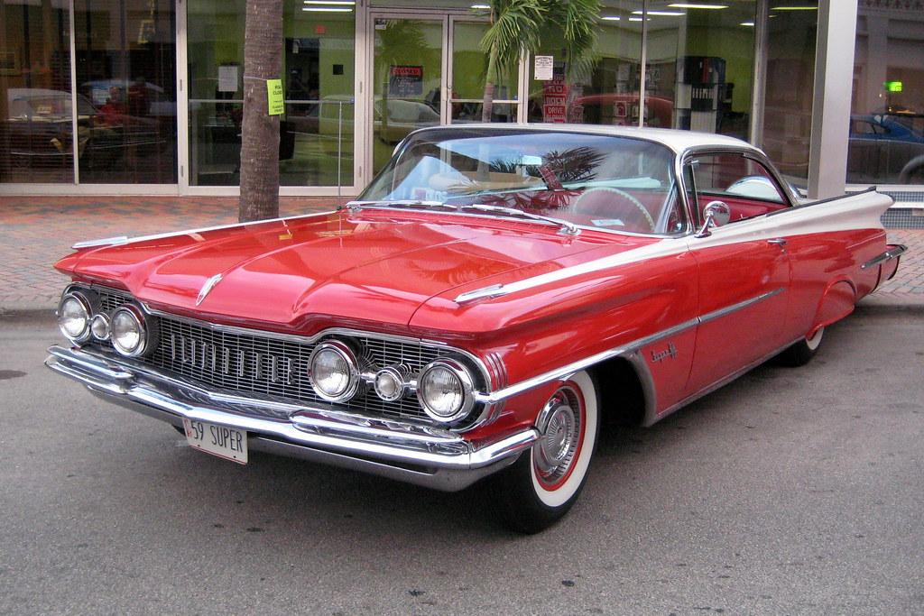 Florida - Fort Pierce - Classic Car Show - 1959 Oldsmobile
