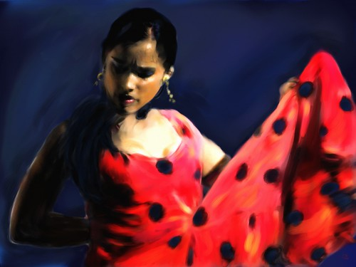 The Flamenco Dancer | by Pat McDonald